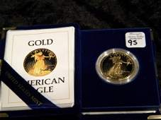 1oz. $50 Gold American Eagle Coin 1986 - Proof