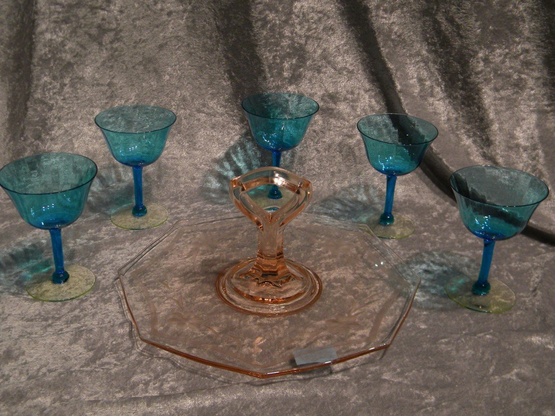 Colored Glass Items