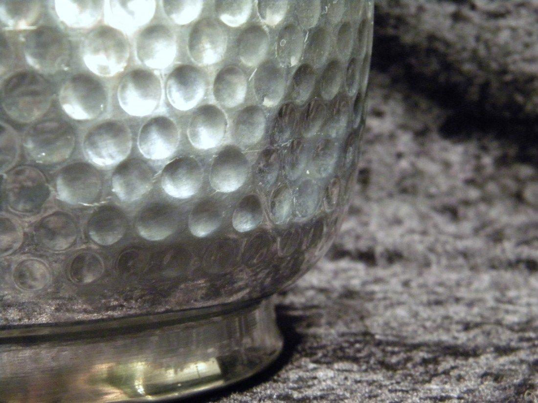 Nasco Italy Hammered Metal Ice Bucket - 3