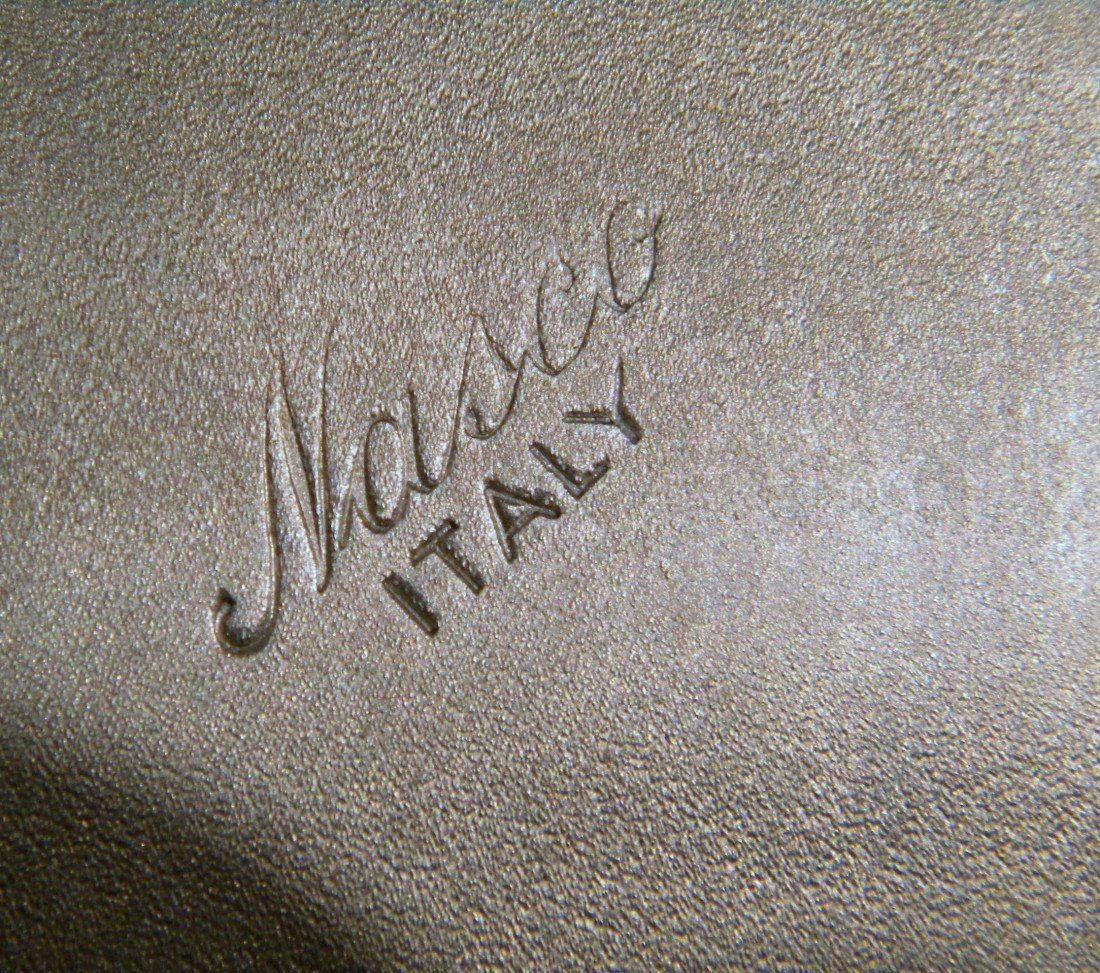 Nasco Italy Hammered Metal Ice Bucket - 4