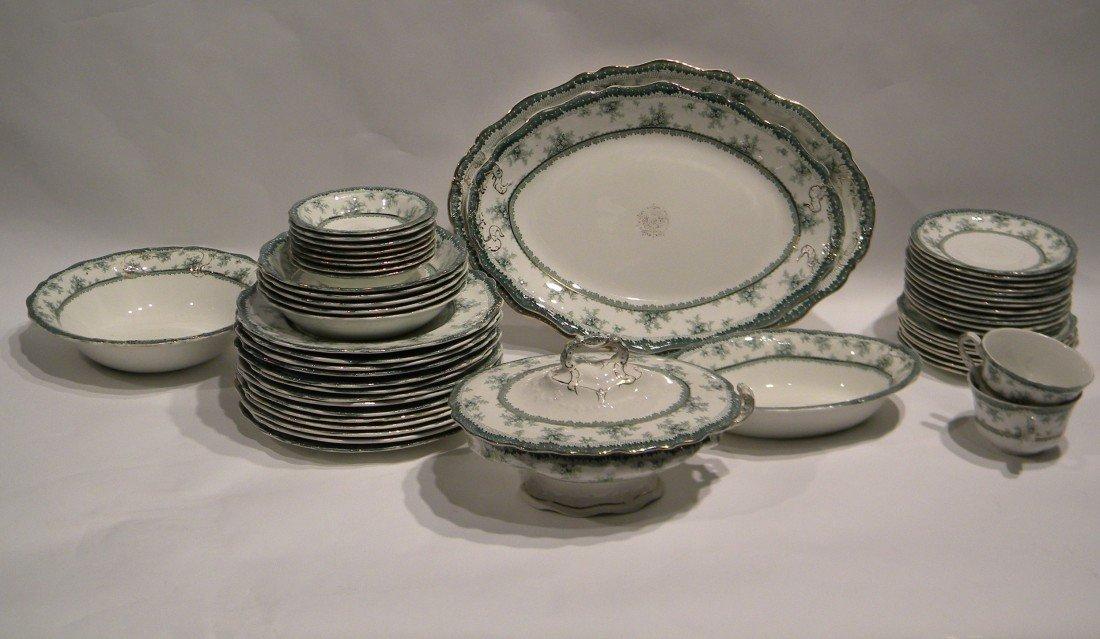 52 Pc John Maddock & Sons Vitreous Dish Set