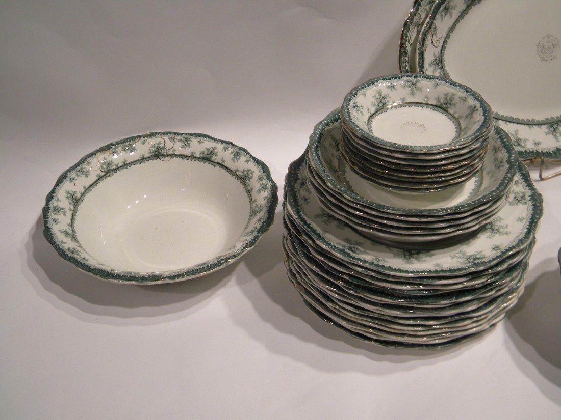 52 Pc John Maddock & Sons Vitreous Dish Set - 5