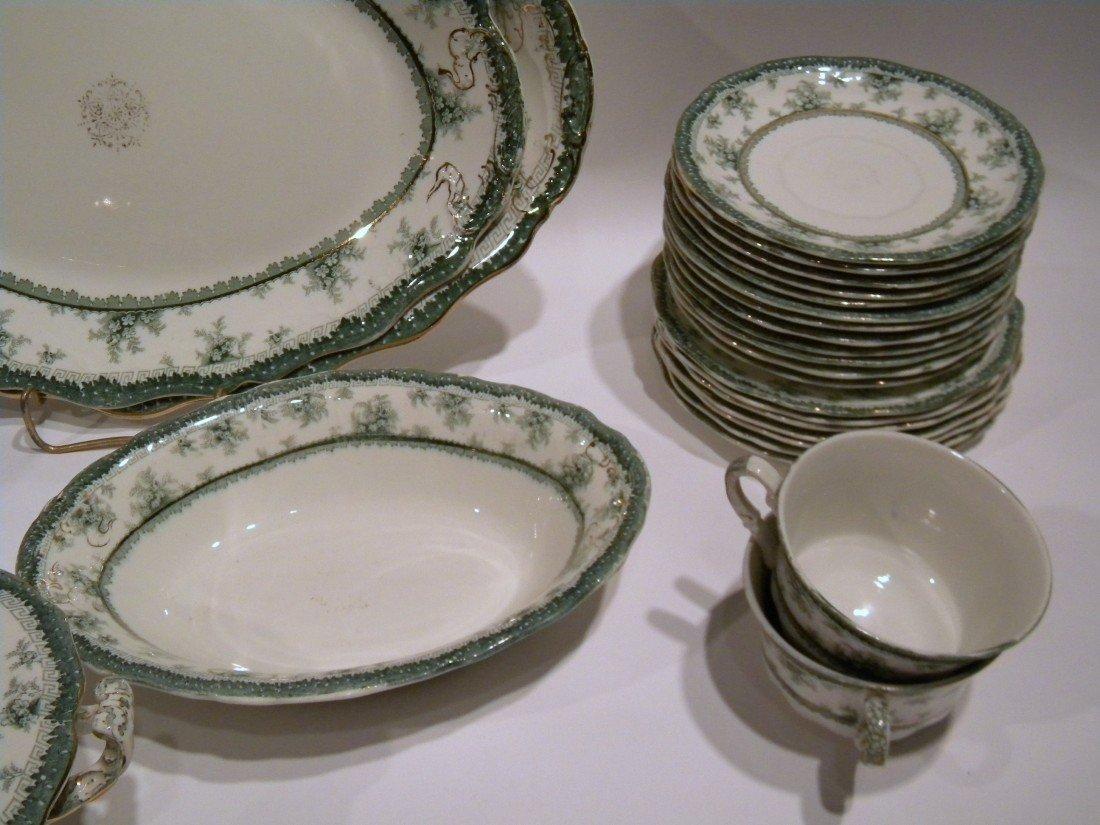 52 Pc John Maddock & Sons Vitreous Dish Set - 6