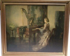 Reofect Painting By Marguerite Pearson Music Room