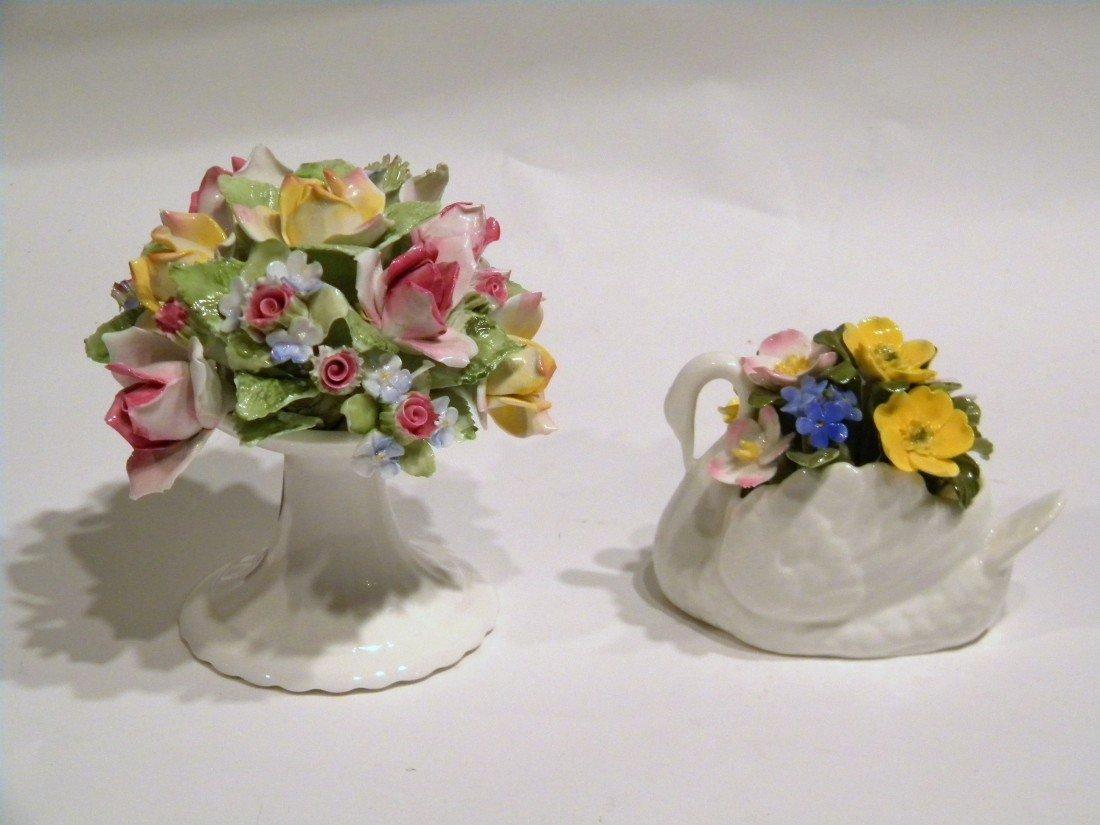 2 Porcelain Items: Aynsley & Royal Doulton