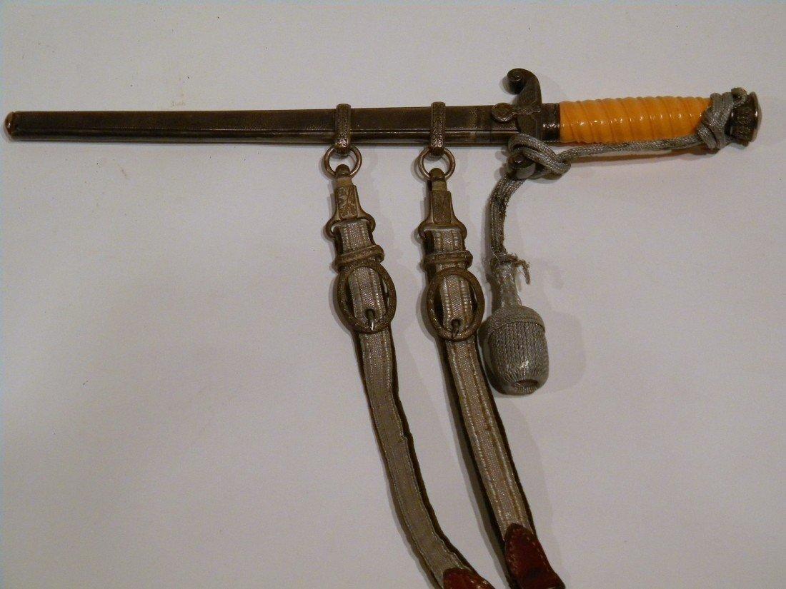 WW II Nazi Officer's Dagger/Scabbard/Hanger
