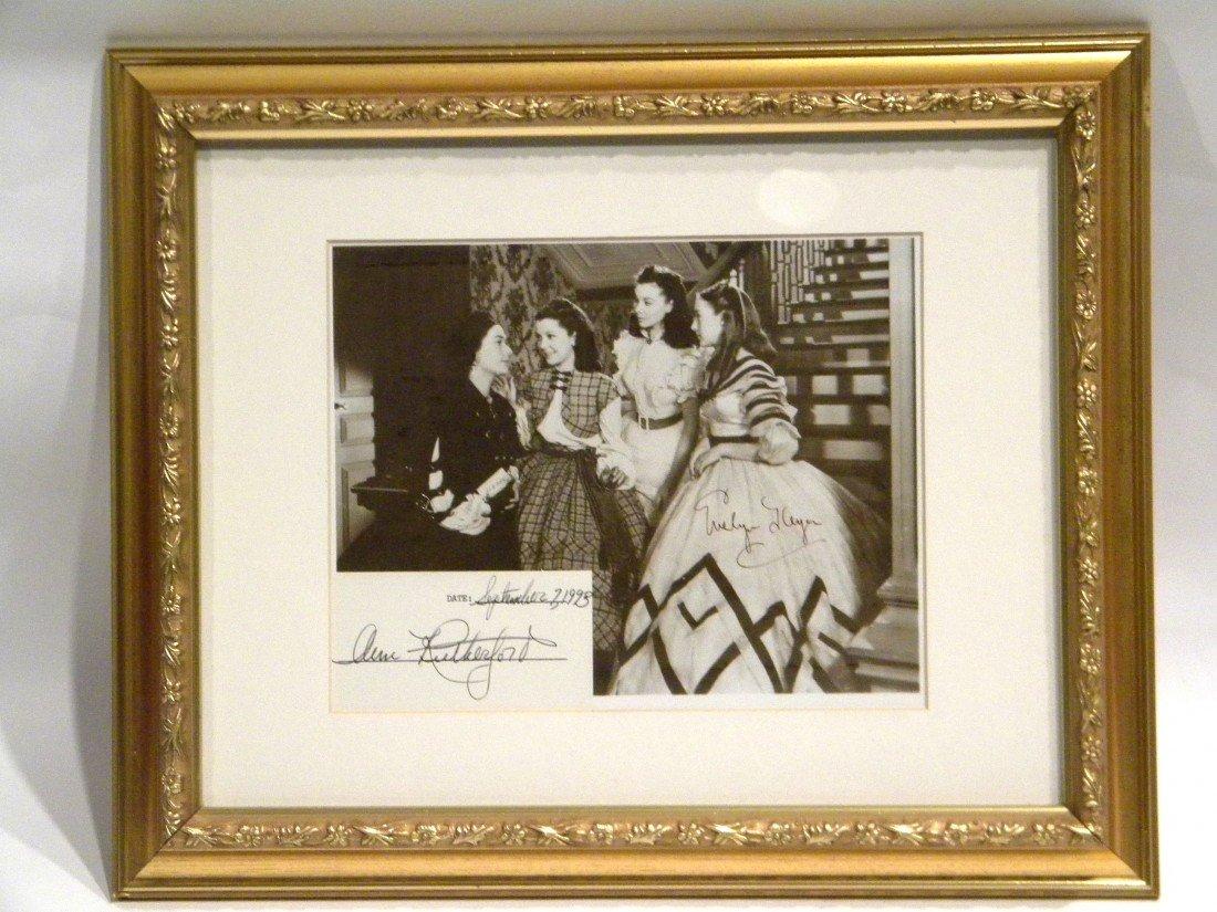 Framed Little Women (1933) Photo Signed Evelyn Keyes