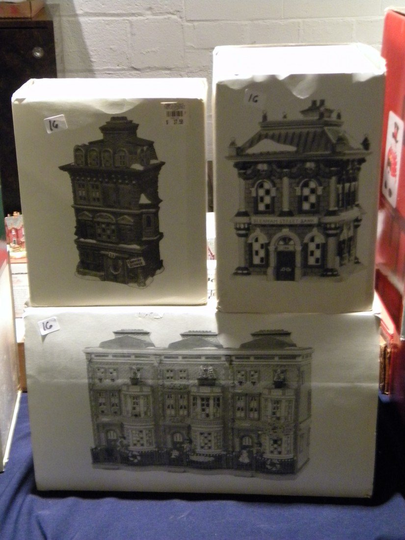 3 Pc Heritage Village Collection