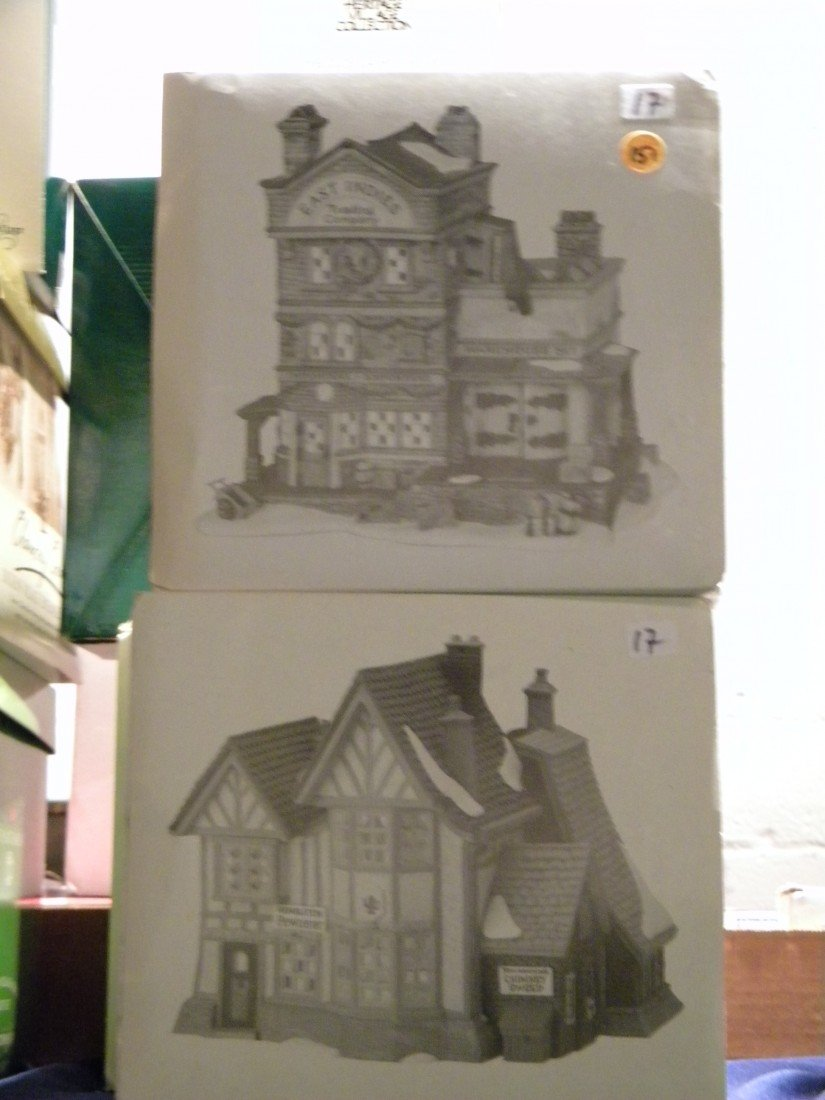 5 Pc Heritage Village Collection - 3