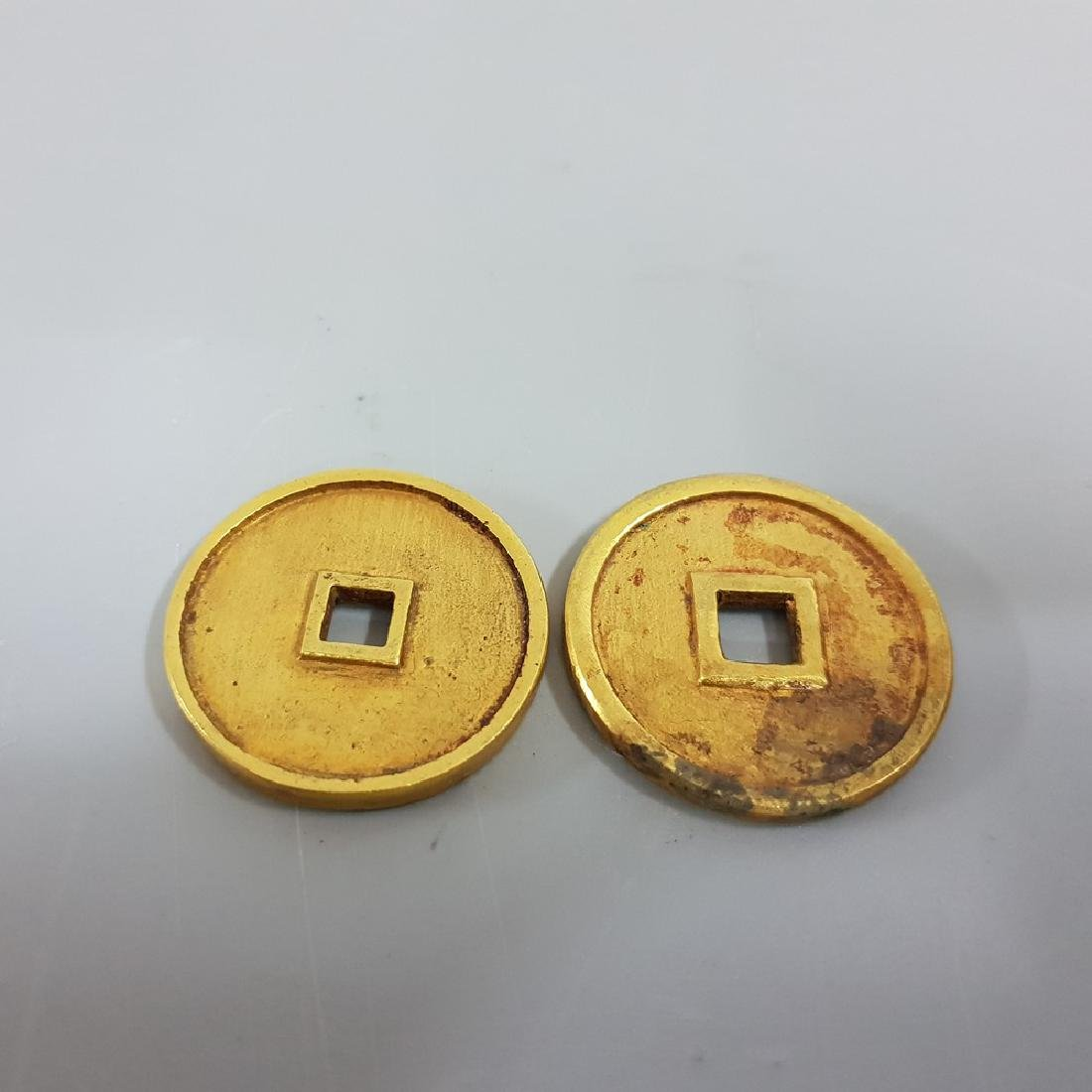 TWO OF GILT-GOLD COINS ,SONG PERIOD - 2