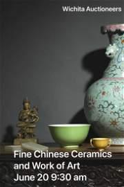 A Chinese Millefleurs Shou Painting Scroll, Ci Xi Mark