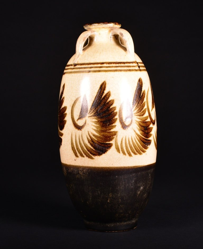 A PAINTED CIZHOU VASE