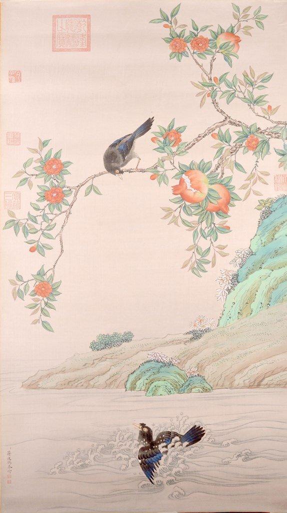 JIANG TIN XI (蒋廷锡  1669-1732)