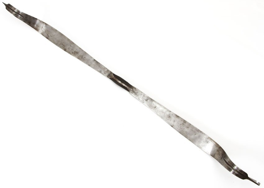 PERSIAN BOW WITH GOLD AND SILVER INLAY - 2
