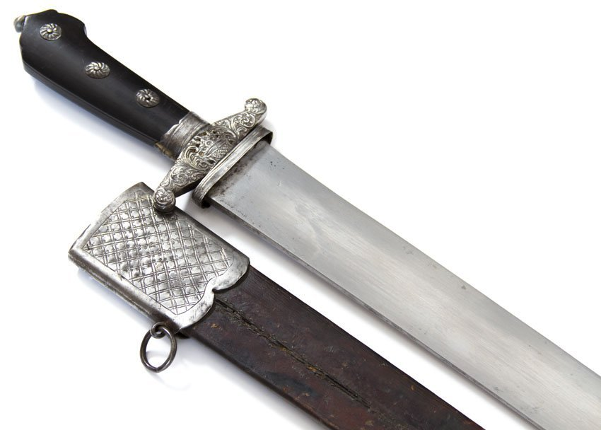 GERMAN HUNTING DAGGER (SHORTSWORD) - 6