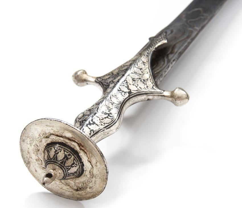 INDIAN TULWAR WITH SILVER HILT - 6