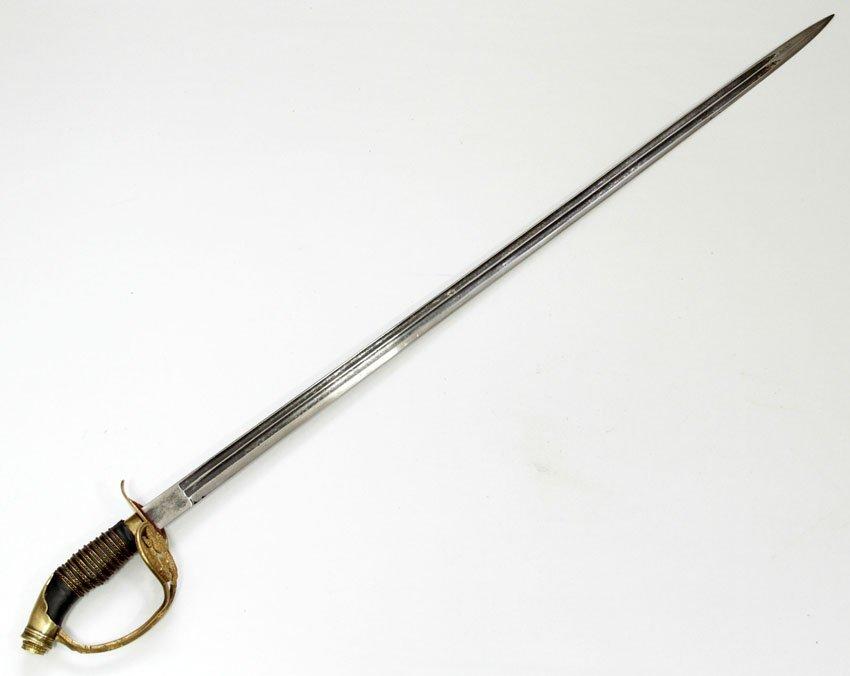 AN ORIGINAL PRUSSIAN ARMY OFFICERS' SWORD/SABER/PALASH