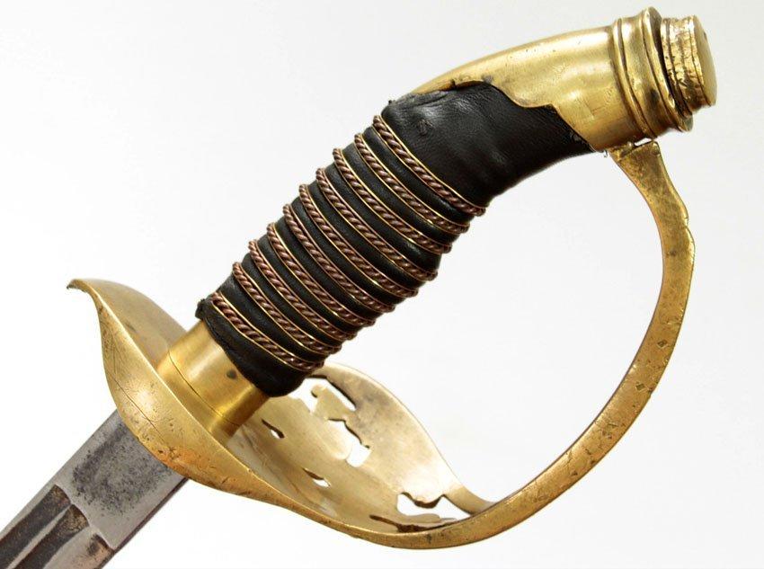 AN ORIGINAL PRUSSIAN ARMY OFFICERS' SWORD/SABER/PALASH - 4