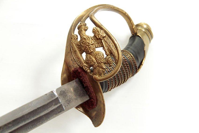 AN ORIGINAL PRUSSIAN ARMY OFFICERS' SWORD/SABER/PALASH - 7