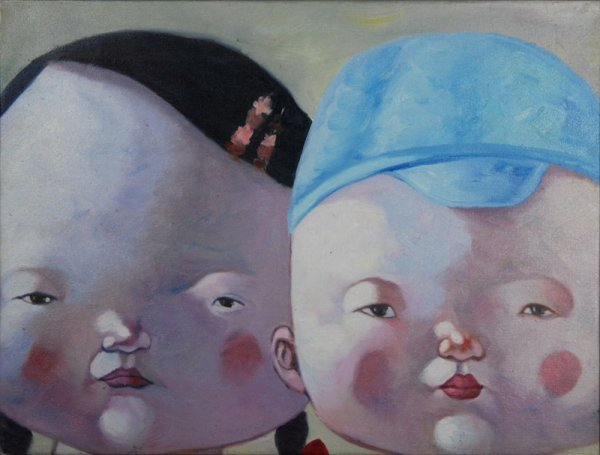 14: Anonymous, Innocent playmates (Blue)