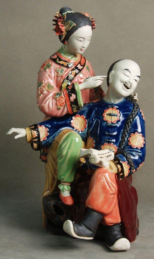 46: Chinese ceramic figures - Harmony