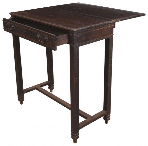 16: Chinese rosewood typewriter table