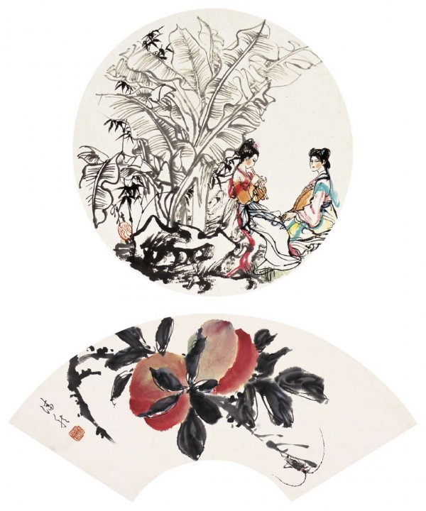 1023: Chinese landscape painting attributed to Yao Youx