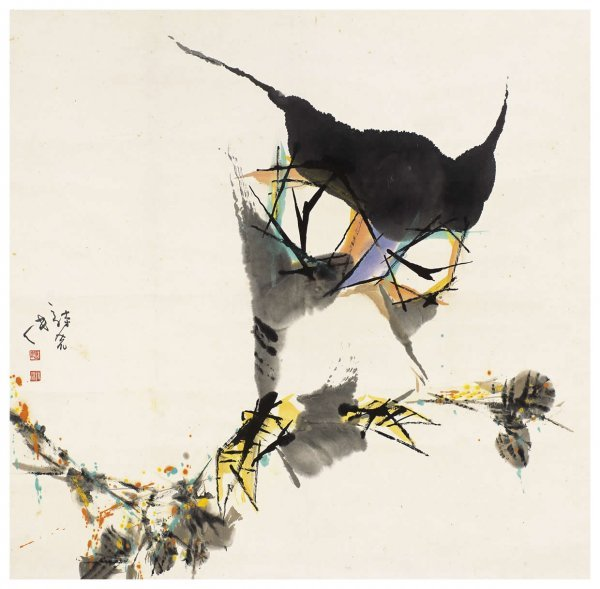1024: Chinese owl painting attributed to Ying Shiliu