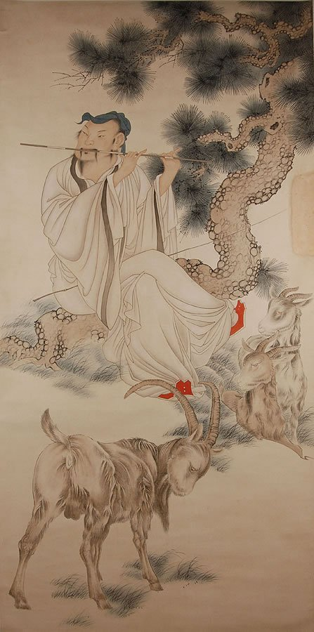 13: Chinese anonymous figure painting