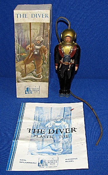 "2: BOXED ""THE DIVER"" TOY BY SAXON"