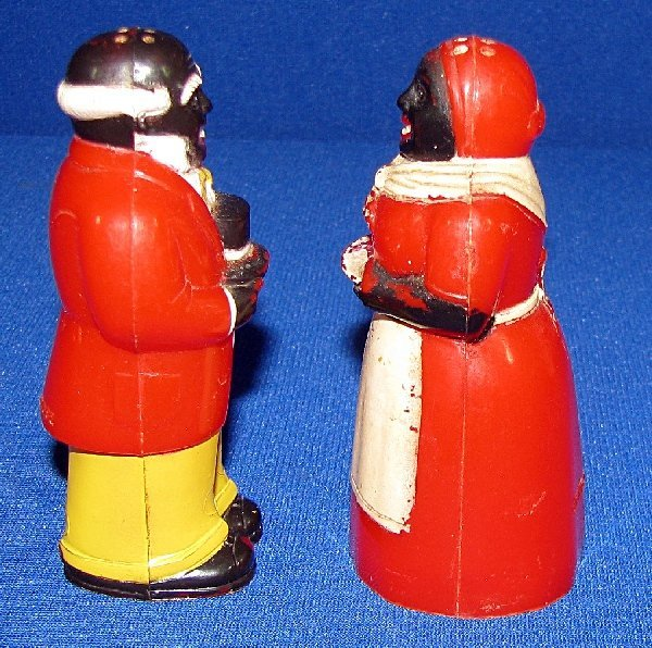 338: AUNT JEMIMA AND UNCLE MOSE SALT AND PEPPER SHAKERS - 3