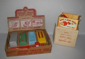 TWO BOXED KEYSTONE TOYS