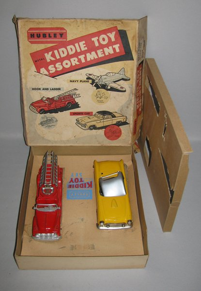 6: BOXED HUBLEY NO. 55 KIDDIE TOY ASSORTMENT