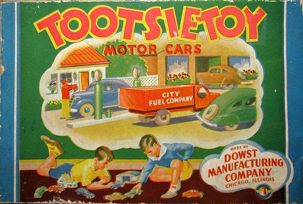 14: EMPTY TOOTSIETOYS MOTOR CARS BOX
