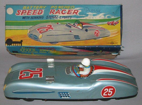 19: BOXED NOMURA BATTERY POWERED SPEED RACER