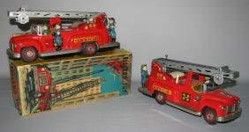 BOXED NOMURA ELECTRO TOY FIRE TRUCK