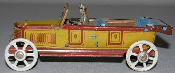 121: FISCHER PENNY TOY TOURING CAR