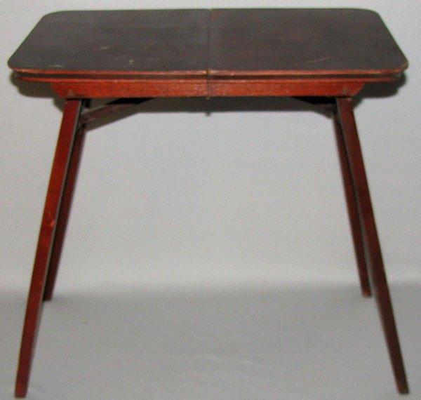 339: SALES SAMPLE FOLDING TABLE