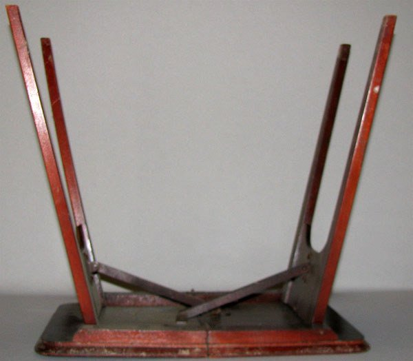 339: SALES SAMPLE FOLDING TABLE - 3