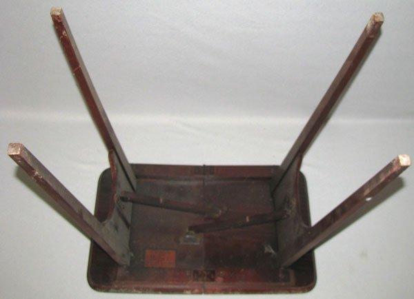 339: SALES SAMPLE FOLDING TABLE - 4