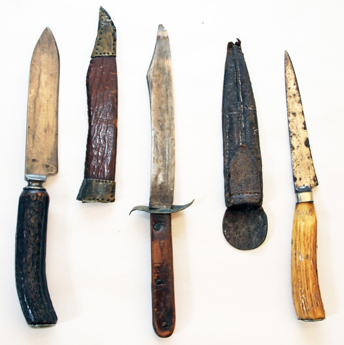 12: LOT OF THREE OLD KNIVES
