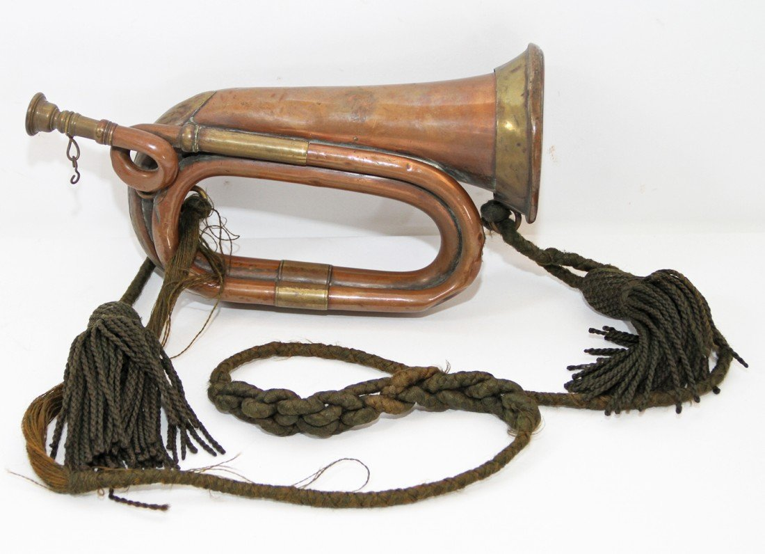 44: MODEL 1858 CIVIL WAR ERA BUGLE