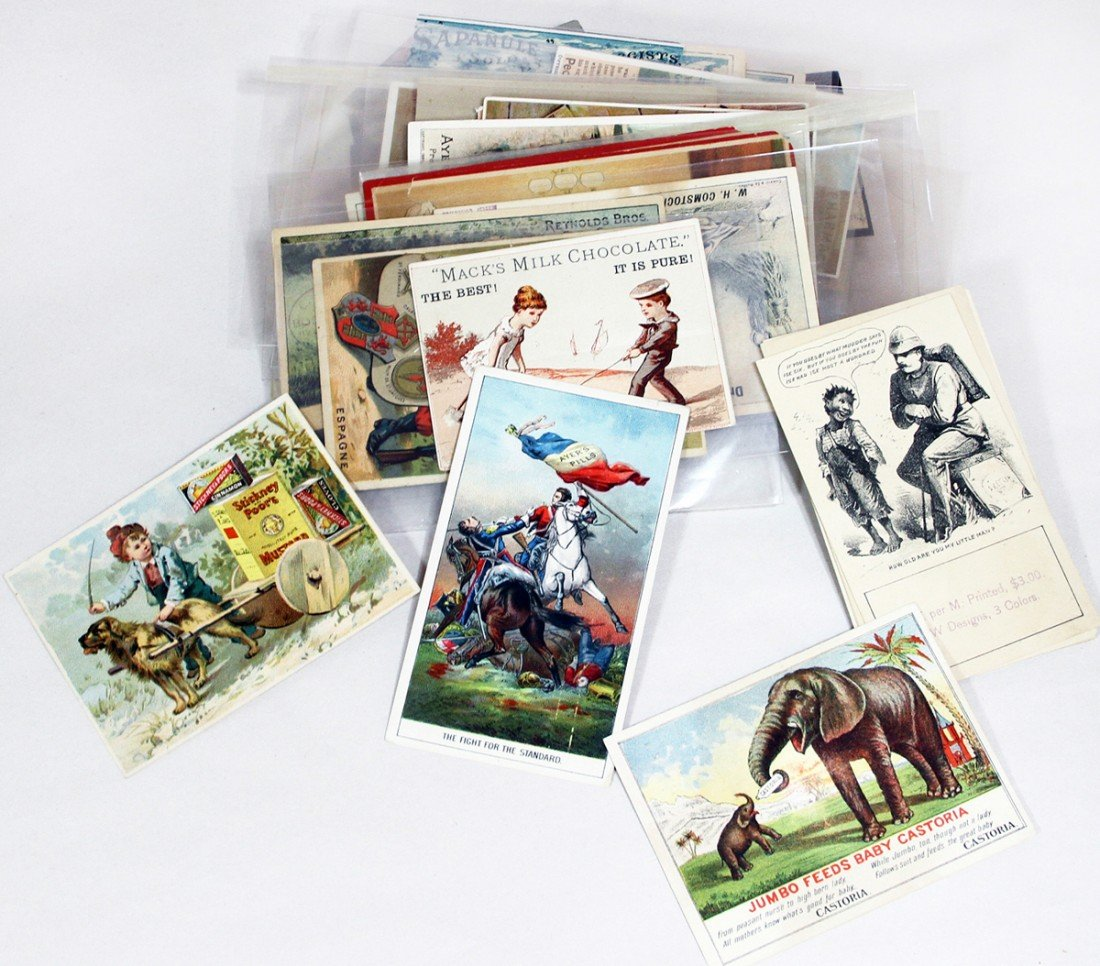 456: LOT OF VICTORIAN TRADE CARDS