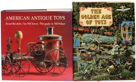 TWO BOOKS ON TOYS