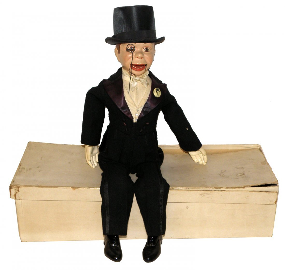 116: A BOXED CHARLIE MCCARTHY VENTRILOQUIST BY EFFANBEE