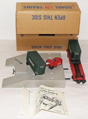 BOXED LIONEL NO. 460 TRANSPORTATION SET