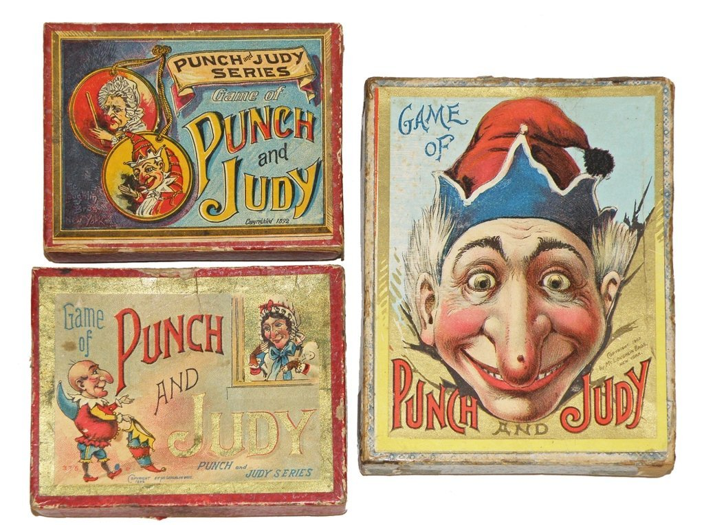 202: MCLOUGHLIN BROS. PUNCH & JUDY GAMES