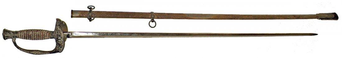 74: M1860 STAFF OFFICERS SWORD