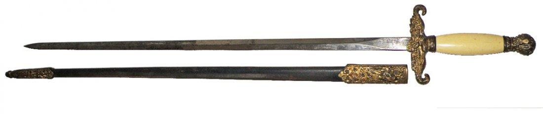 78: MILITIA OFFICERS OR REVENUE CUTTERS SWORD