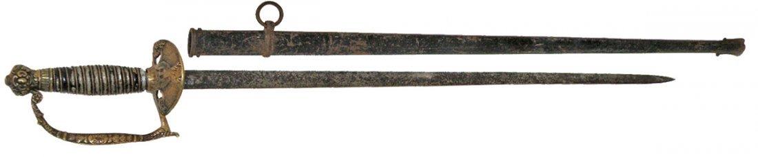 81: MILITIA SWORD CIRCA 1860